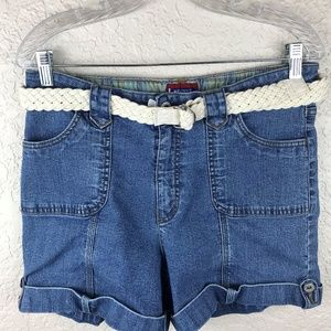 Westport denim short with belt